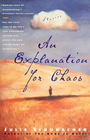 Cover of: An explanation for chaos