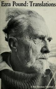 Cover of: Ezra Pound: the use and abuse of history