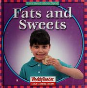 Cover of: Fats and sweets