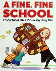 Cover of: A fine, fine school