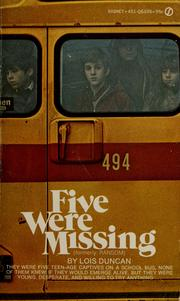 Cover of: Five were missing.