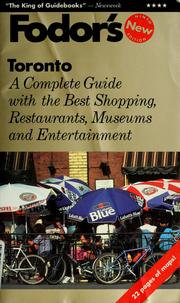 Cover of: Fodor's Toronto