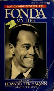 Cover of: Fonda: my life