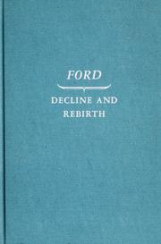 Cover of: Ford: decline and rebirth, 1933-1962
