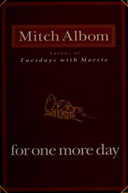 Cover of: For one more day