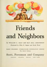 Cover of: Friends and neighbors
