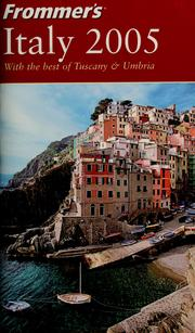 Cover of: Frommer's Italy 2005