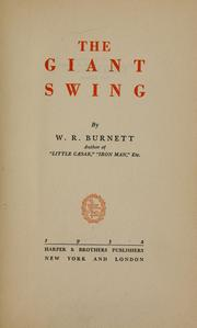 Cover of: The giant swing