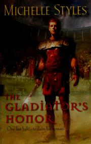 Cover of: The gladiator's honor