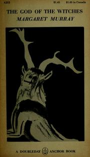 Cover of: The God of the witches