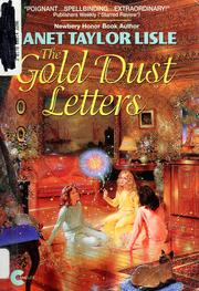 Cover of: The gold dust letters