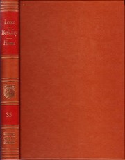 Cover of: Great books of the Western World: Volume 35