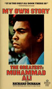 Cover of: The greatest, my own story