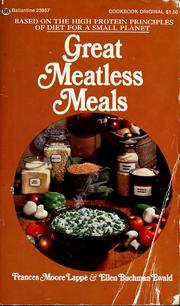 Cover of: Great meatless meals
