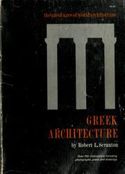 Cover of: Greek architecture