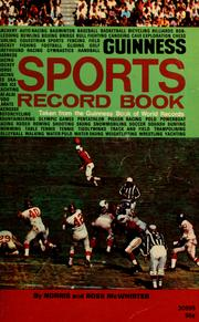 Cover of: Guinness sports record book: taken from the Guinness book of world records