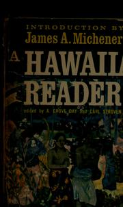 Cover of: A Hawaiian reader