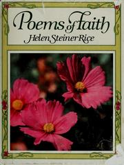 Cover of: Helen Steiner Rice's Poems of faith