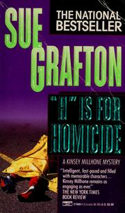 "Cover of: ""H"" is for homicide"