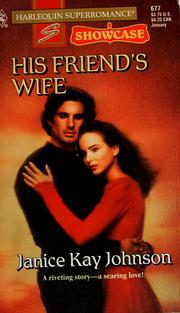 Cover of: His friend's wife