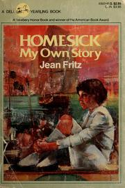 Cover of: Homesick, my own story
