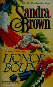 Cover of: Honour Bound