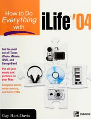 Cover of: How to do everything with iLife '04
