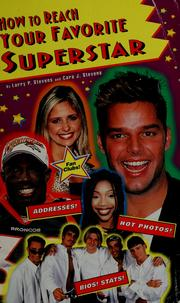 Cover of: How to reach your favorite superstar