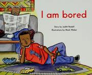 Cover of: I am bored