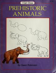 Cover of: I can draw prehistoric animals
