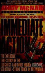 Cover of: Immediate action