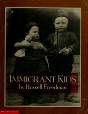 Cover of: Immigrant kids