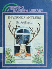 Cover of: Imogene's antlers