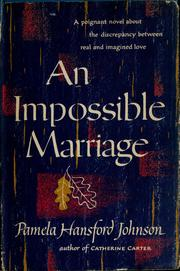 Cover of: An impossible marriage