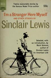 Cover of: I'm a stranger here myself: and other stories