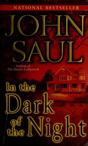 Cover of: In the dark of the night: a novel
