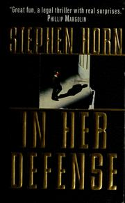 Cover of: In her defense