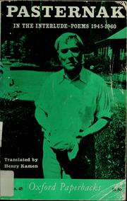 Cover of: In the interlude: poems, 1945-1960