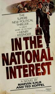 Cover of: In the national interest: a novel