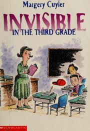 Cover of: Invisible in the third grade