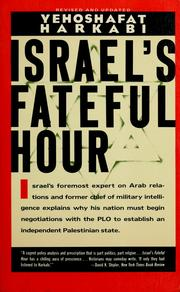 Cover of: Israel's fateful hour