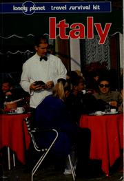 Cover of: Italy.