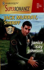 Cover of: Jack Murray, Sheriff