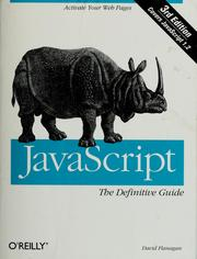 Cover of: JavaScript: the definitive guide
