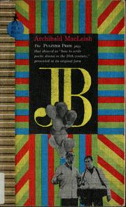 Cover of: J.B.: a play in verse