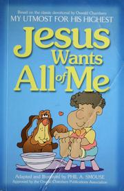Cover of: Jesus wants all of me