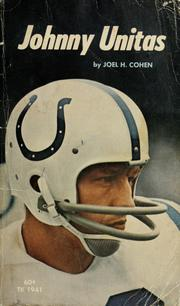 Cover of: Johnny Unitas