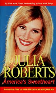 Cover of: Julia Roberts: America's sweetheart