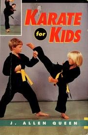 Cover of: Karate for kids