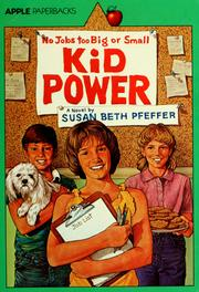 Cover of: Kid power